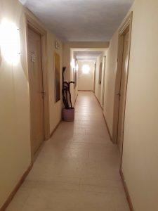 Corridoio stanze hotel