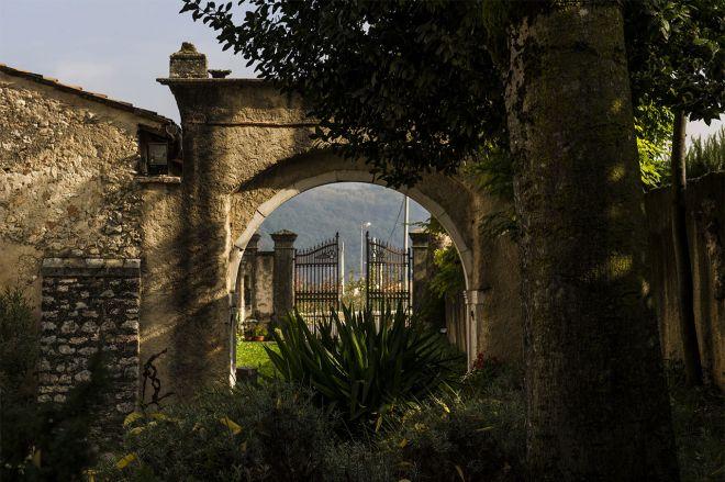 Cancello Di Ingresso Villa De Winckels