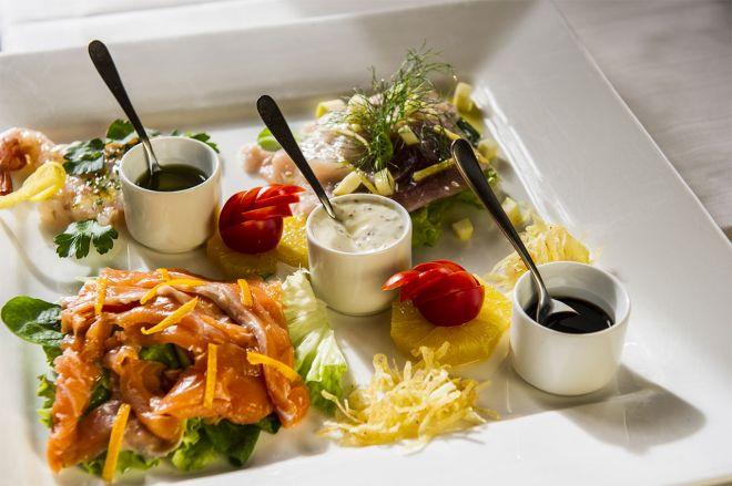 Degustazione Di Pesce Villa De Winckels